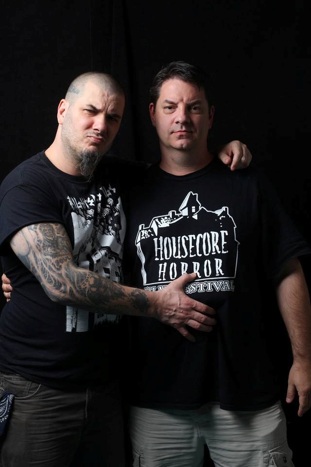 Phil Anselmo and Corey Mitchell